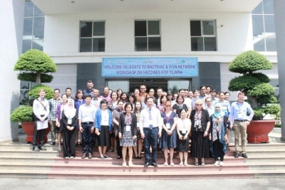 """BactiVac and IVVN Network workshop on Vaccines for Tilapia"" at Biotechnology Center of Ho Chi Minh city, Vietnam, 23rd-25th September 2019"